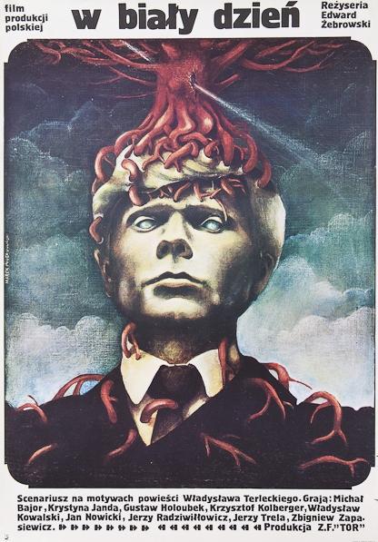 """Plakat filmu """"W biały dzień"""" (1980)"""